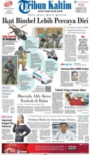 Cover Tribun Kaltim 21 Maret 2019