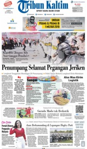 Tribun Kaltim Cover 23 March 2019