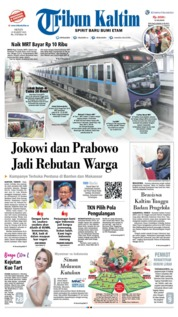 Tribun Kaltim Cover 25 March 2019