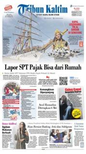 Cover Tribun Kaltim 26 Maret 2019