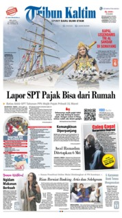 Tribun Kaltim Cover 26 March 2019