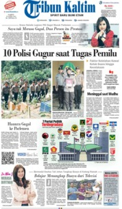 Tribun Kaltim Cover 20 April 2019