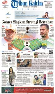 Tribun Kaltim Cover 24 April 2019