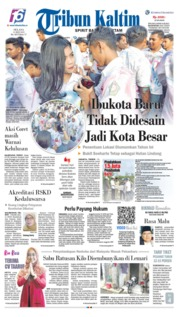 Tribun Kaltim Cover 14 May 2019