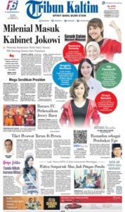 Cover Tribun Kaltim 15 Mei 2019