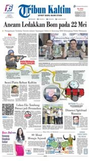 Tribun Kaltim Cover 18 May 2019