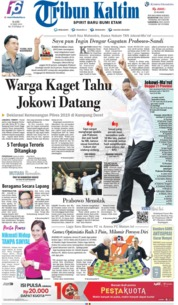 Tribun Kaltim Cover 22 May 2019