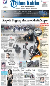 Tribun Kaltim Cover 23 May 2019