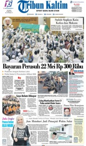 Tribun Kaltim Cover 24 May 2019