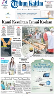 Tribun Kaltim Cover 27 May 2019
