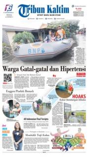 Tribun Kaltim Cover 09 June 2019