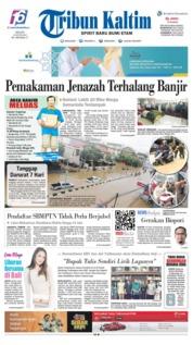 Tribun Kaltim Cover 10 June 2019