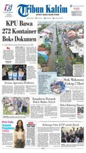 Tribun Kaltim Cover 13 June 2019