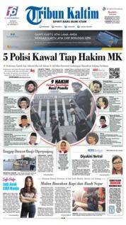 Tribun Kaltim Cover 14 June 2019