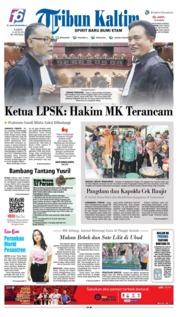 Tribun Kaltim Cover 15 June 2019