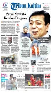 Cover Tribun Kaltim 16 Juni 2019