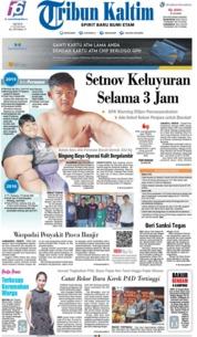 Cover Tribun Kaltim 17 Juni 2019