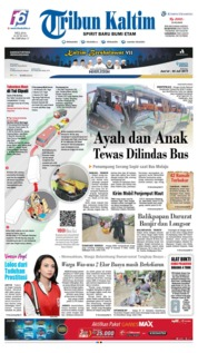 Tribun Kaltim Cover 18 June 2019