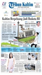 Cover Tribun Kaltim 19 Juni 2019