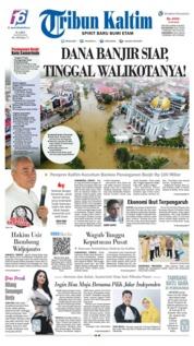 Cover Tribun Kaltim 20 Juni 2019