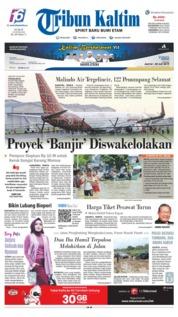Tribun Kaltim Cover 21 June 2019