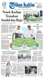 Tribun Kaltim Cover 23 June 2019