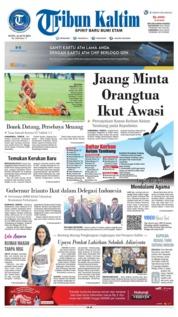 Tribun Kaltim Cover 24 June 2019