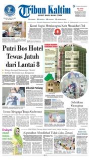 Cover Tribun Kaltim 25 Juni 2019