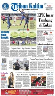 Tribun Kaltim Cover 27 June 2019