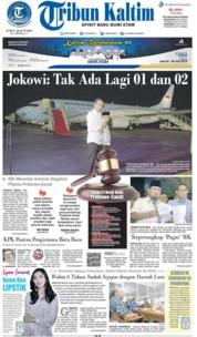 Tribun Kaltim Cover 28 June 2019