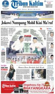 Cover Tribun Kaltim