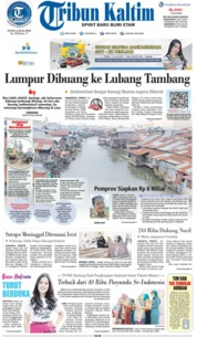 Tribun Kaltim Cover 08 July 2019