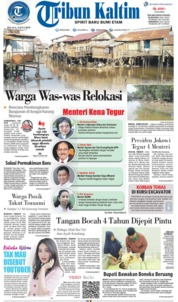 Tribun Kaltim Cover 09 July 2019