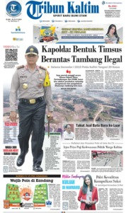 Tribun Kaltim Cover 10 July 2019
