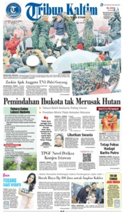 Tribun Kaltim Cover 11 July 2019