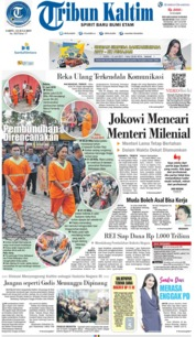 Tribun Kaltim Cover 13 July 2019