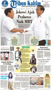 Tribun Kaltim Cover 14 July 2019