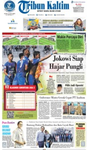 Tribun Kaltim Cover 15 July 2019