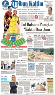 Tribun Kaltim Cover 18 July 2019
