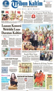 Tribun Kaltim Cover 19 July 2019