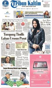 Cover Tribun Kaltim 20 Juli 2019