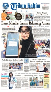 Tribun Kaltim Cover 21 July 2019
