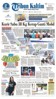Tribun Kaltim Cover 22 July 2019