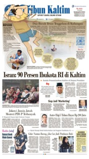 Tribun Kaltim Cover 09 August 2019