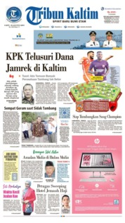 Tribun Kaltim Cover 10 August 2019