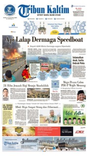 Tribun Kaltim Cover 12 August 2019