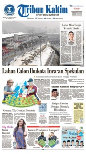 Tribun Kaltim Cover 14 August 2019