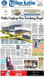 Tribun Kaltim Cover 15 August 2019