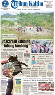 Tribun Kaltim Cover 18 August 2019