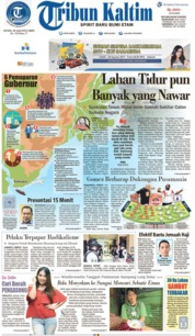 Tribun Kaltim Cover 19 August 2019